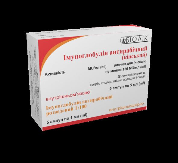Імуноглобулін антирабічний (кінський)